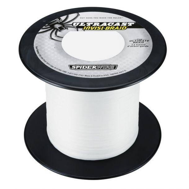 Spiderwire Ultracast Invisi-Braid 1800meter BULK spole