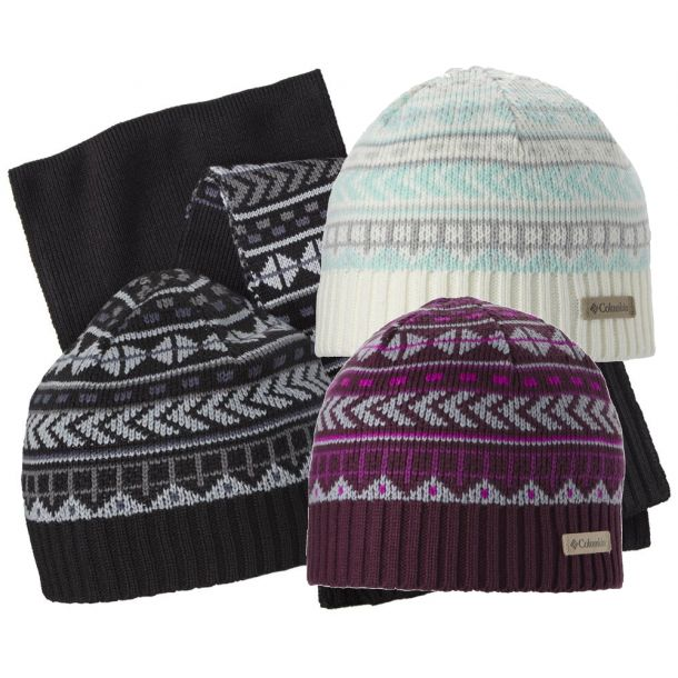 Columbia Winter Worn Hat & Scarf Set