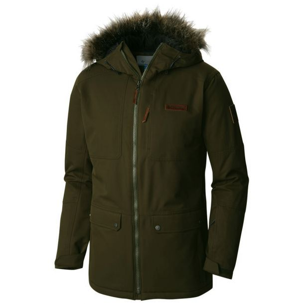 Columbia Men S Catacomb Crest Insulated Parka Jacket