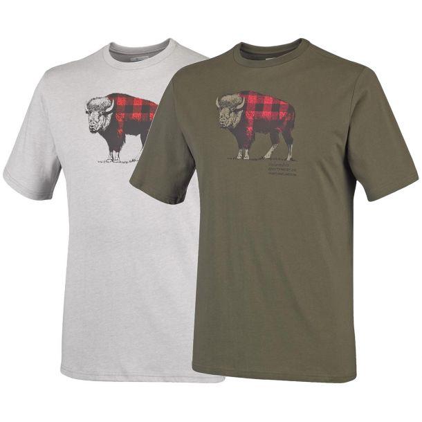 Columbia Men's CSC Check The Buffalo II Short Sleeve Shirt