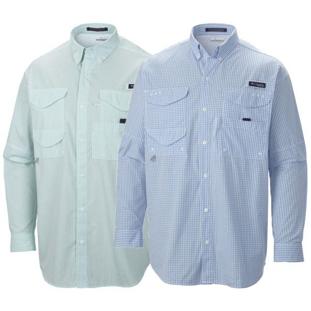 Columbia Men's PFG Super Bonehead Classic Long Sleeve Shirt