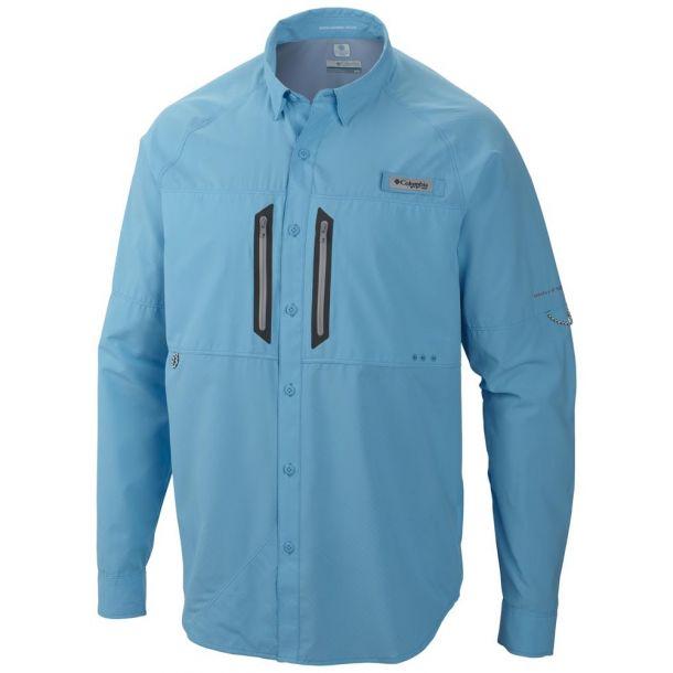Columbia Men's Solar Cast Zero Long Sleeve Shirt PFG