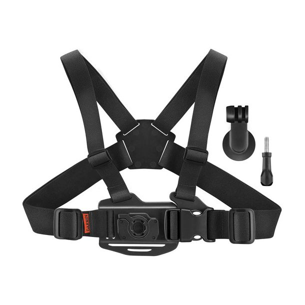 Garmin VIRB Holder m. brystkasserem