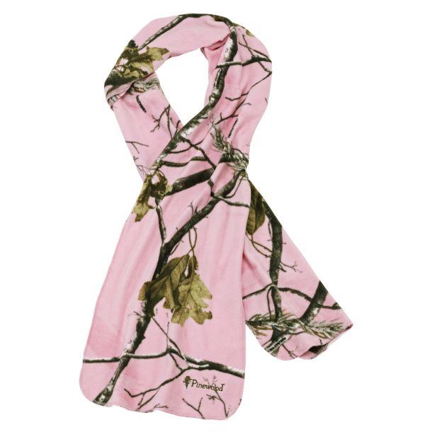 Pinewood Microfleece Halstørklæde - Realtree AP HD Pink