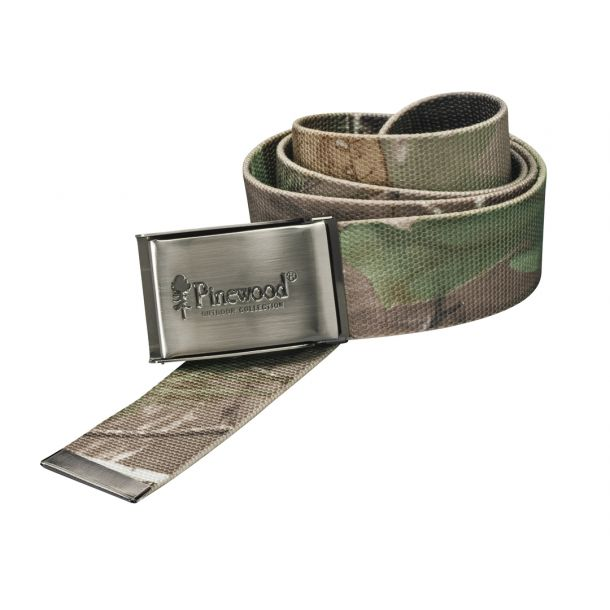 Pinewood Canvasbælte, camo