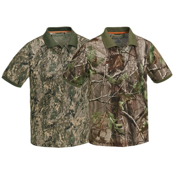 Pinewood Ramsey Coolmax-Camouflage Polo T-Shirt