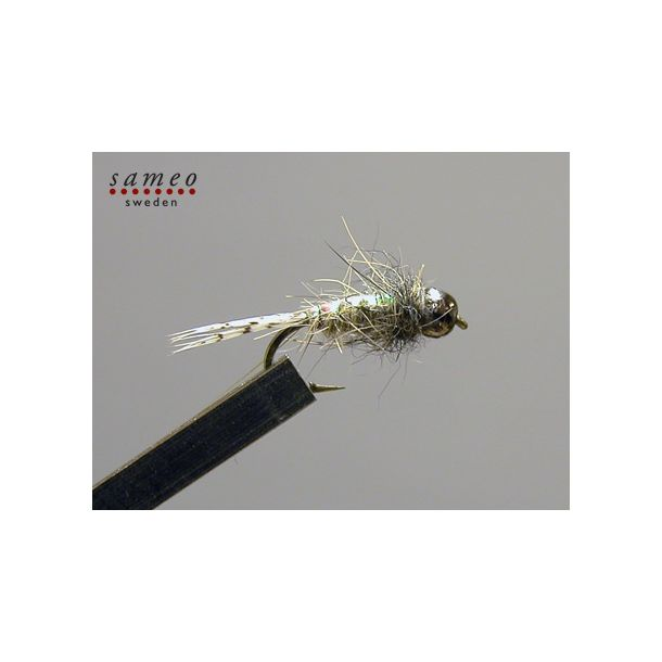 Sameo Nymphe ''Super greyling Hares ear'' tungsten