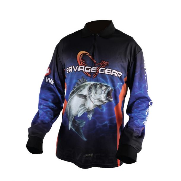Savage Gear Tournament Jersey Seabass/Tuna