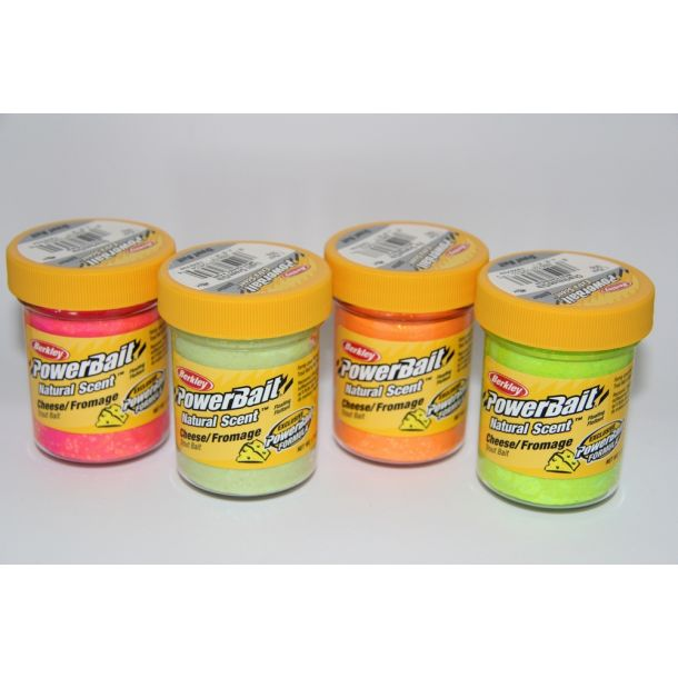 Berkley Powerbait Naturel Scent Cheese