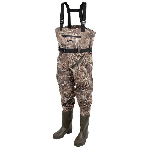 Pro Logic Max5 Nylo-Stetch Chest Waders w/cleated